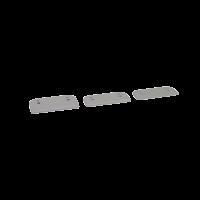 Distanzstücke Gegenstück EasyLock weißaluminium