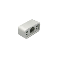 Aufbaugehäuse Zargenmontage EasyLock weißaluminium