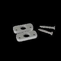 Distanzplatten-Set EasyLock, weißaluminium