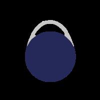 SESAM Schlüsseltransponder ceVo, blau – HMD-TS2-BL/CE-S