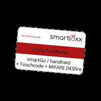 SMARTLOXX Freischaltmedium smartGo / handheld + Touchcode + MIFARE DESfire – FSTM