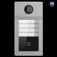 SAFIRE SF-VI112-IPW-4MF Außenstation, 4x Klingel